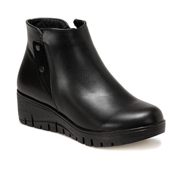 Polaris 161500.Z Siyah Kadın Comfort Ayakkabı