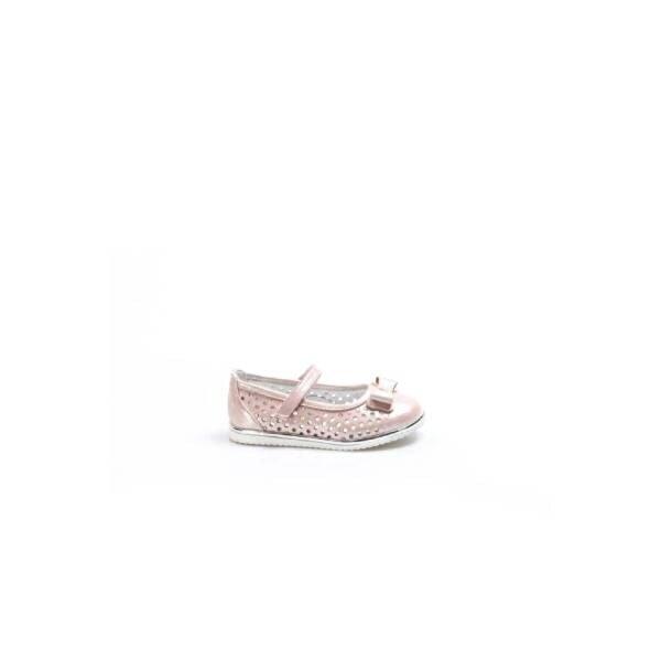 Fast Step Hakiki Deri Kız Çocuk Babet Ayakkabı 837BA04