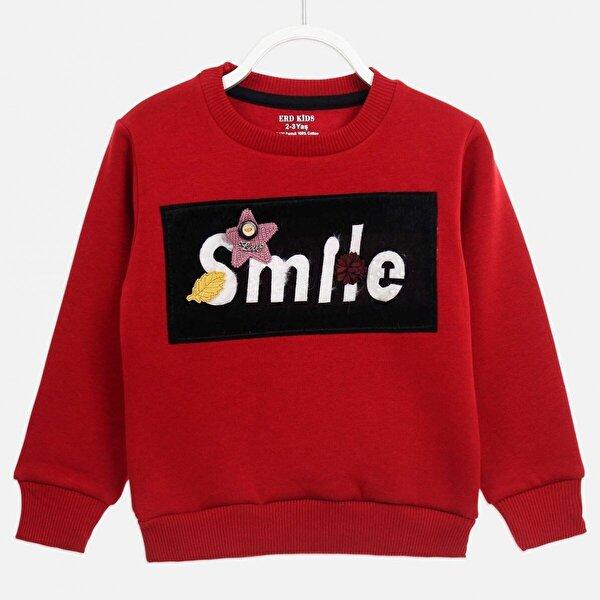 E.R.D Kids Kırmızı Kışlık Kız Çocuk Sweatshirt