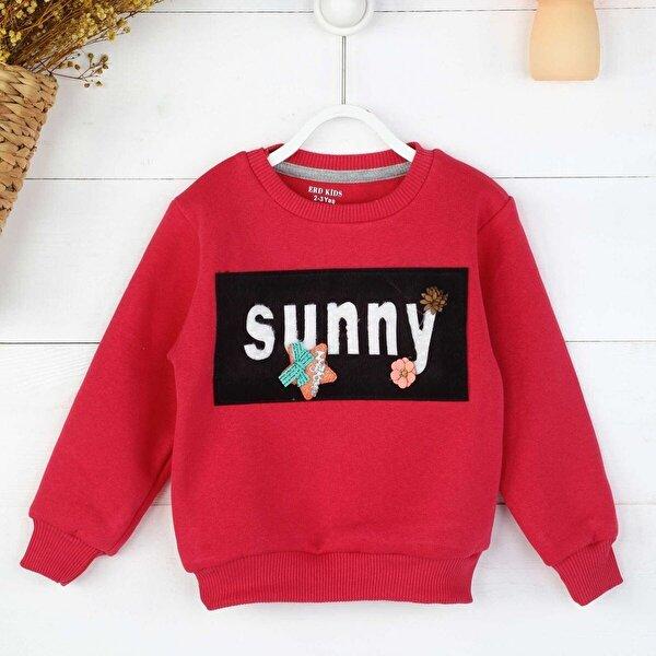 E.R.D Kids Fuşya Kışlık Kız Çocuk Sweatshirt