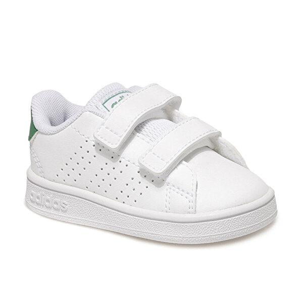 adidas ADVANTAGE I Beyaz Kız Çocuk Sneaker Ayakkabı