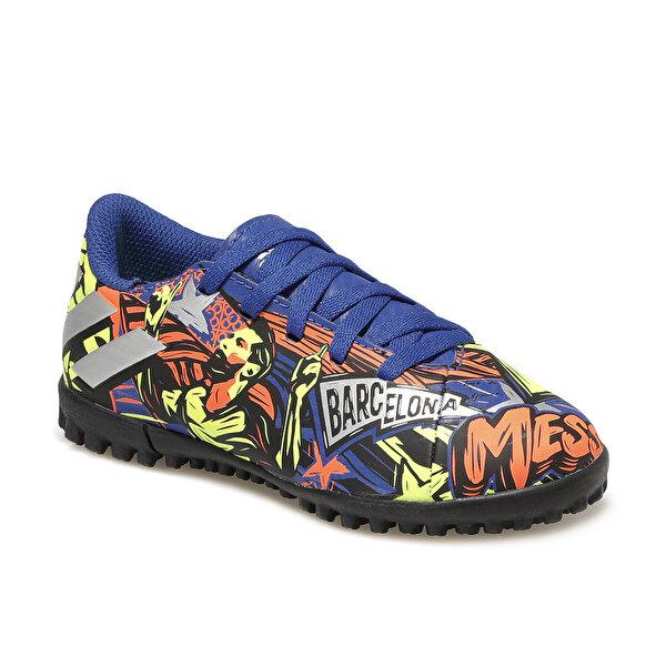 adidas NEMEZIZ MESSI 19.4 Mavi Erkek Çocuk Halı Saha Ayakkabısı