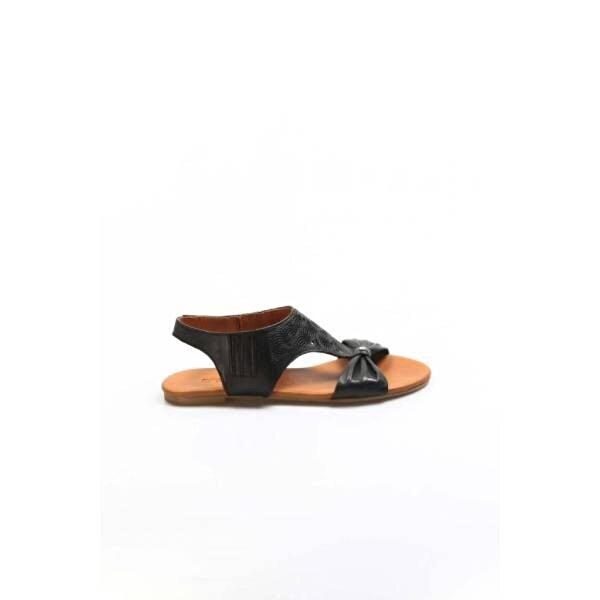 Fast Step Hakiki Deri Kadın Klasik Sandalet 763ZA052