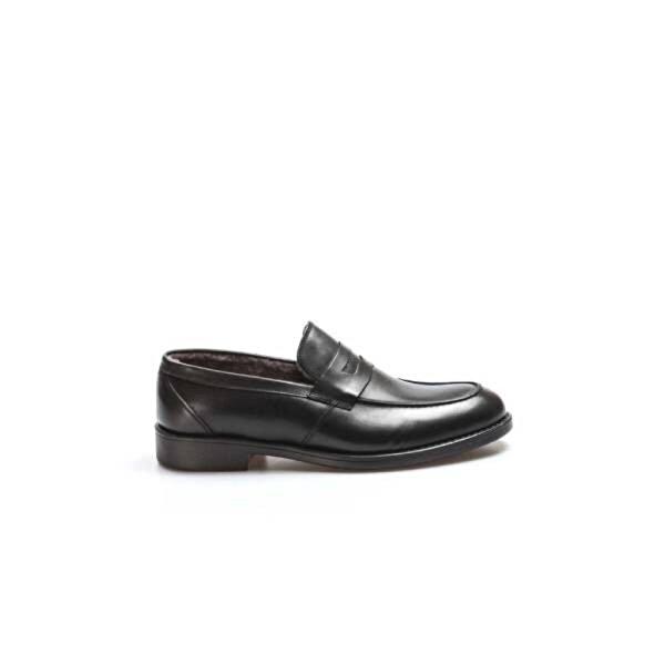 Fast Step Hakiki Deri Erkek Klasik Ayakkabı 701KMA015-2