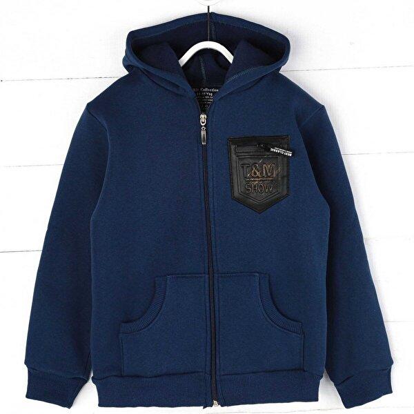 E.R.D Kids İndigo Kışlık Erkek Çocuk Sweatshirt