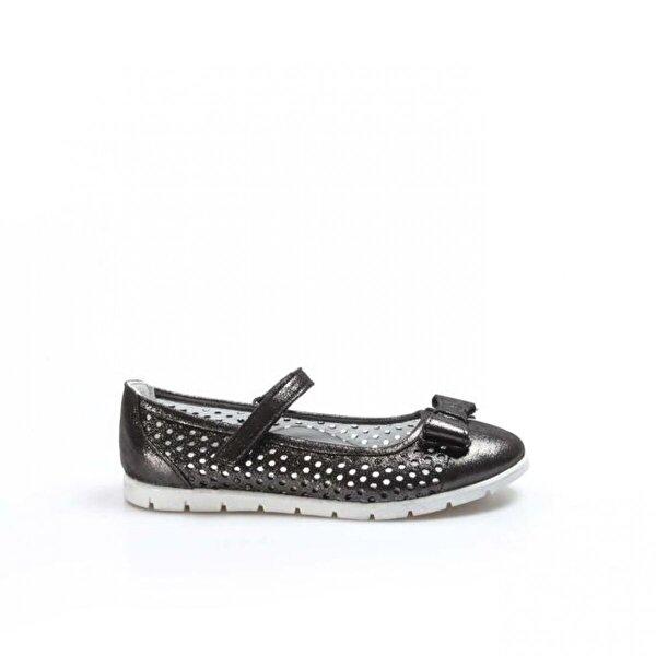 Fast Step Hakiki Deri Kız Çocuk Babet Ayakkabı 837FA04