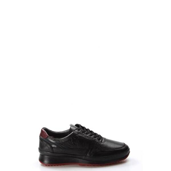 Fast Step Hakiki Deri Kürklü Erkek Sneaker Ayakkabı 722KMA237