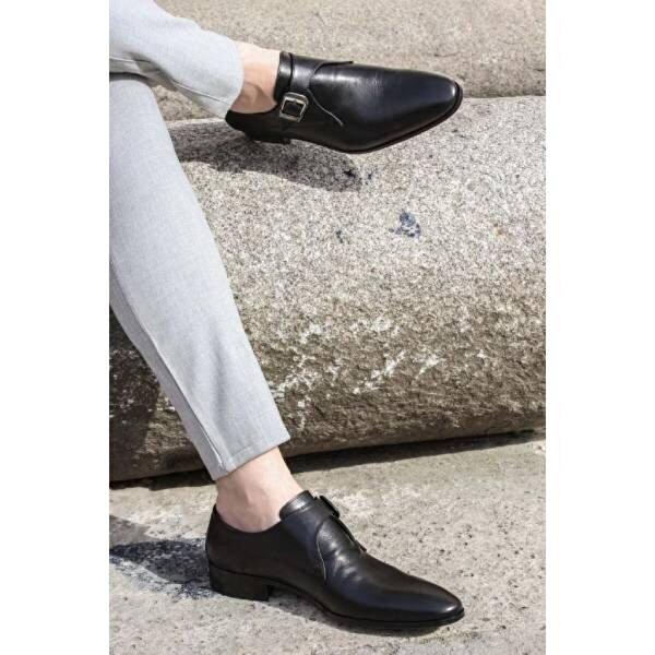 Fast Step Hakiki Deri Erkek Klasik Ayakkabı 278MA3056