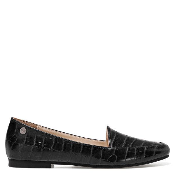 Nine West MELANIT3 Siyah Kadın Loafer Ayakkabı
