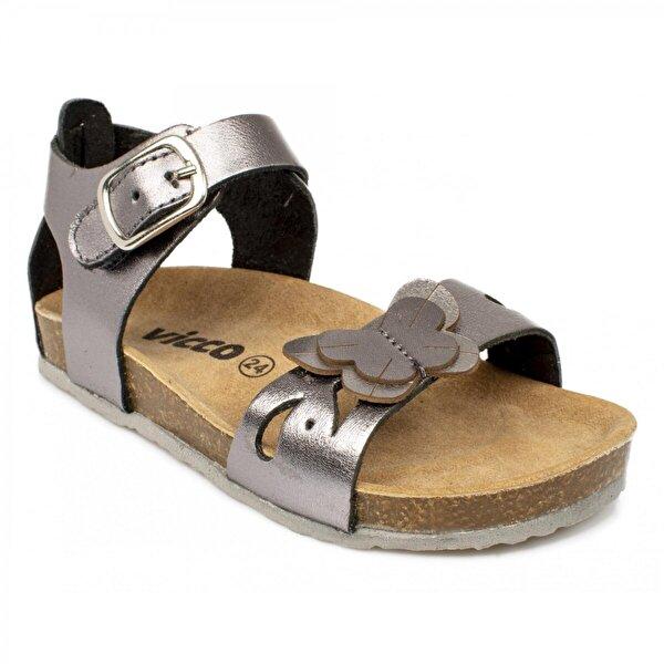 VICCO 905.19Y.071 Bebe Deri Füme Çocuk Sandalet