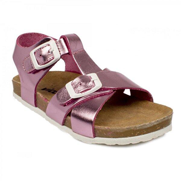 VICCO 905.b20Y.024 Bebe Deri Pembe Çocuk Sandalet