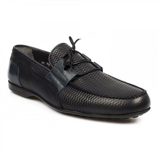 FOSCO 9032 Trend Lacivert Erkek Ayakkabı