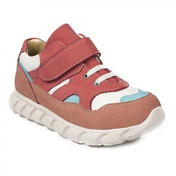 Perlina 182P Cırtlı Ortopedik Pudra Çocuk Ayakkabı