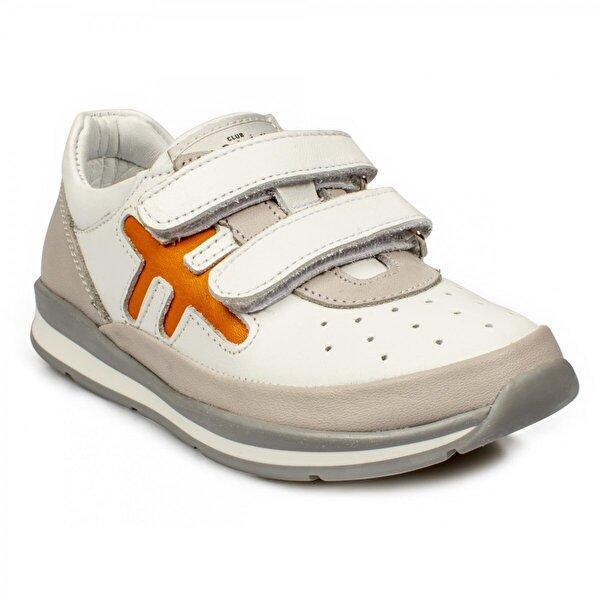 Perlina 258P Ortopedik Beyaz Çocuk Ayakkabı