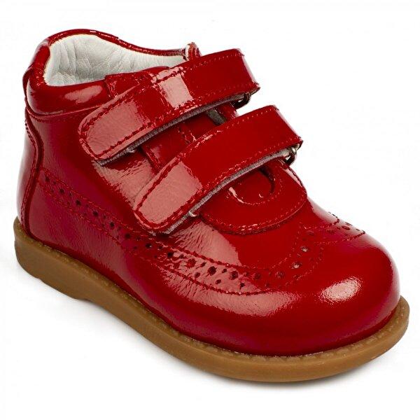 Nubebe Nu Bebe 2111 İa İlkadim Deri Kırmızı Çocuk Bot