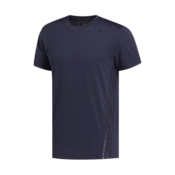 adidas AERO 3S TEE Lacivert Erkek T-Shirt