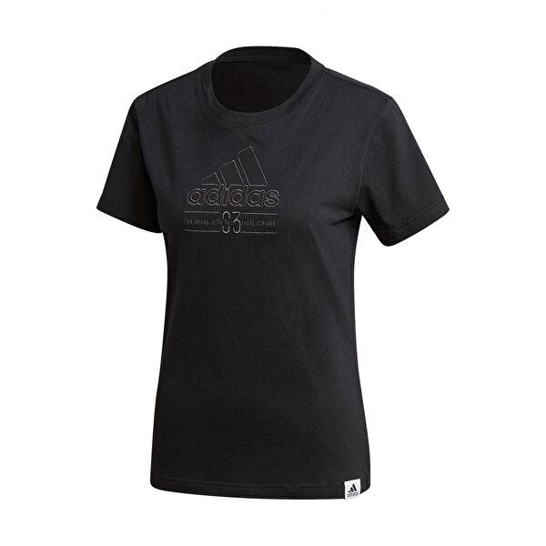 adidas W BB T Siyah Kadın T-Shirt
