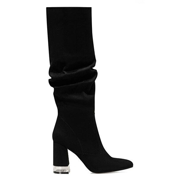 Nine West MIRANI Siyah Kadın Ökçeli Çizme