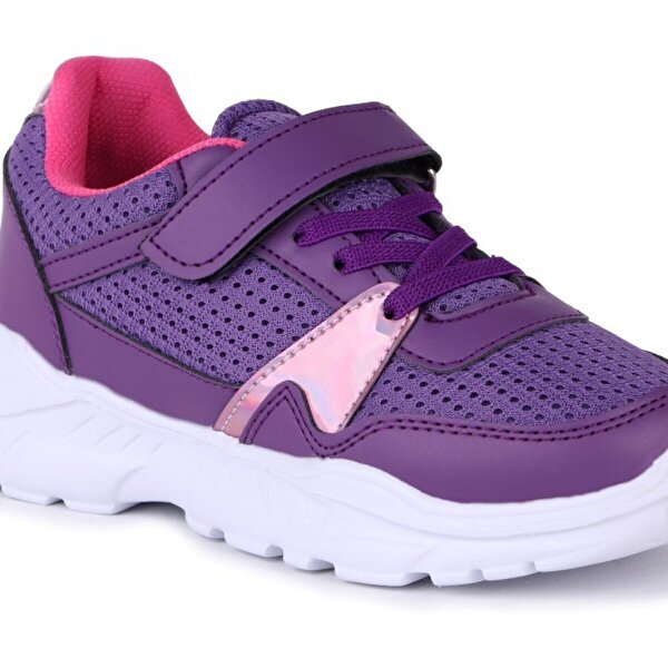 Vojo 20-S11 6328 Cırtlı Kız Çocuk Spor Ayakkabı 2 Renk