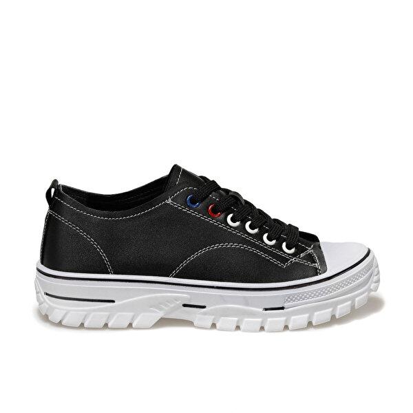 Butigo 20K-878 Siyah Kadın Havuz Taban Sneaker