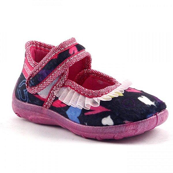 GEZER 2233 Bebe Ev Ve Kreş Kız Çocuk Panduf Ayakkabı