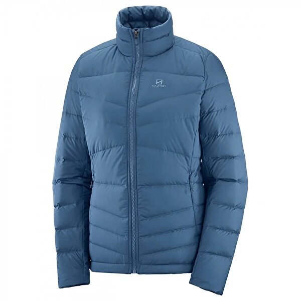 Salomon Lc1389700 Transition Down Jacket W Mavi Kadın Tekstil