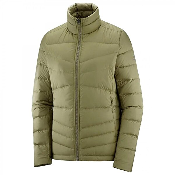 Salomon Lc1389700 Transition Down Jacket W Yeşil Kadın Tekstil