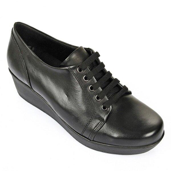 Gön Hakiki Deri Kadın Günlük Ayakkabı 24134