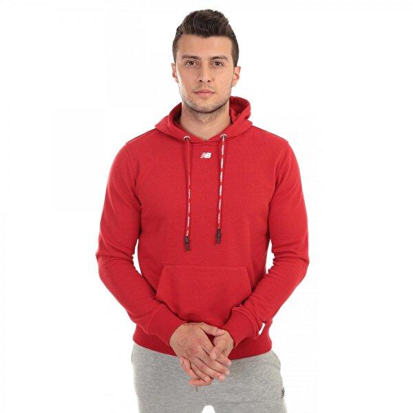 New balance Mph023 Nb Mens Retro Hoodie Kırmızı Erkek Giyim