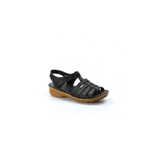 Fast Step Hakiki Deri Kadın Klasik Sandalet 864ZA206