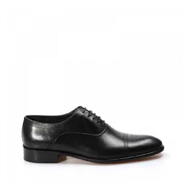 Fast Step Hakiki Deri Kösele Erkek Klasik Ayakkabı 893MA4403