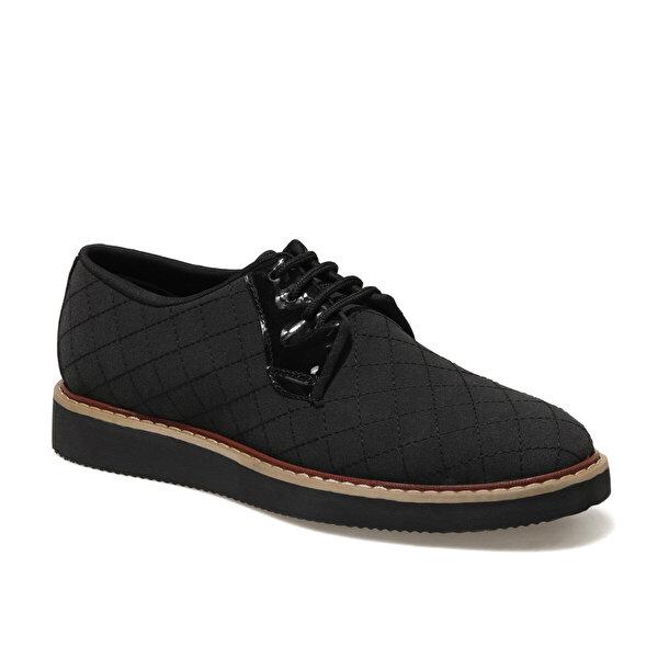JJ-Stiller 3321 1FX Siyah Erkek Klasik Ayakkabı