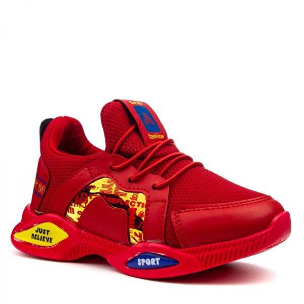 Papuçcity Alessio Kırmızı (26-35)  Erkek-Kız Çocuk Spor Ayakkabı