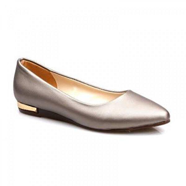 Papuçcity Can  Platin Günlük Rahat Babet Ayakkabı