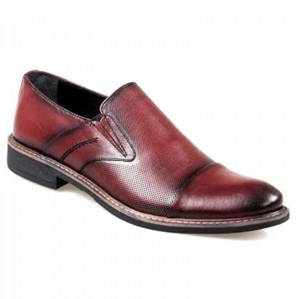 Rego 1238 Erkek Bordo Klasik Ayakkabı
