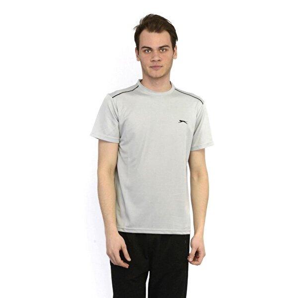 Slazenger ORA Erkek T-Shirt Gri