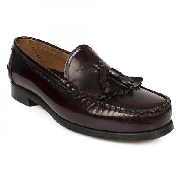 Dexter P533 Leofer Corcik Bordo Erkek Ayakkabı