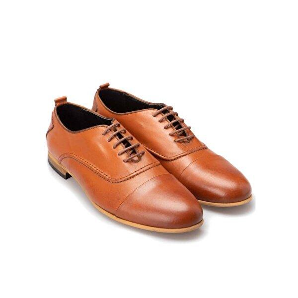 Silvio Motto Hakiki Deri Günlük Erkek Ayakkabı - Taba