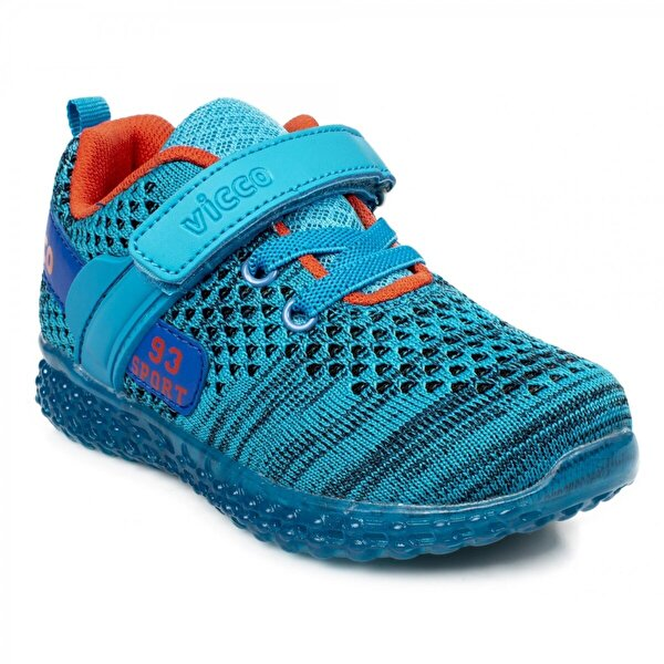 Vicco 313.b20Y.104 Bebe Işıklı Mavi Çocuk Spor Ayakkabı