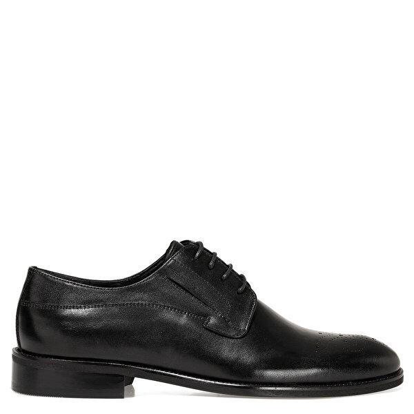 İnci KAHU Siyah Erkek Klasik Ayakkabı