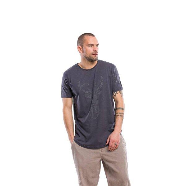 Kevin Erkek T2 Antrasit Tişört