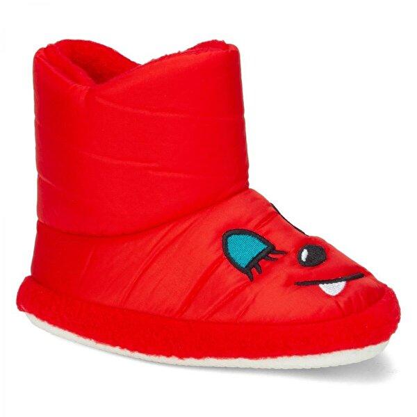Papuçcity Doktor Kırmızı Ev Kreş Erkek-Kız Çocuk Bot Panduf