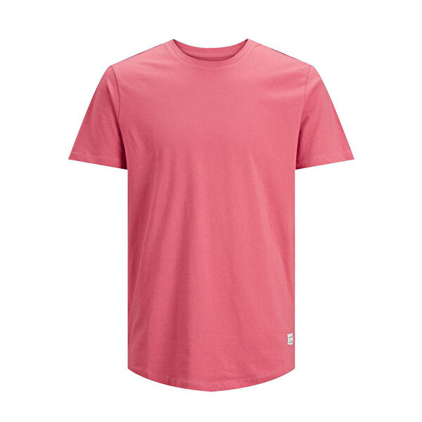 Jack & Jones JJENOA TEE SS CREW NECK N Pembe Erkek T-Shirt