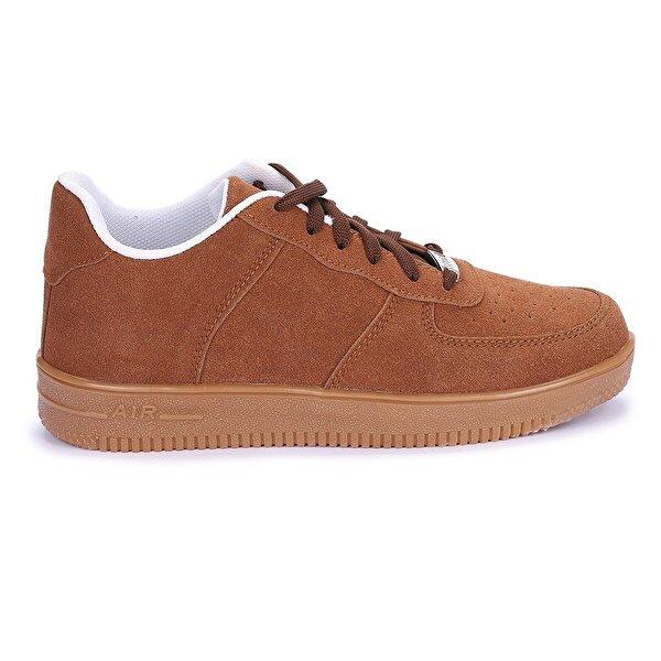 AYAKLAND Nprs 25 Süet Air Kaymaz Erkek Spor Ayakkabı Kahverengi