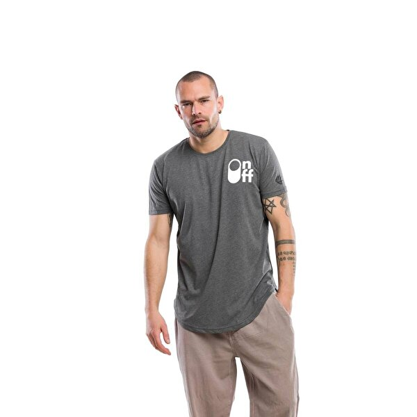 Kevin Erkek T1 K.Gri Tişört