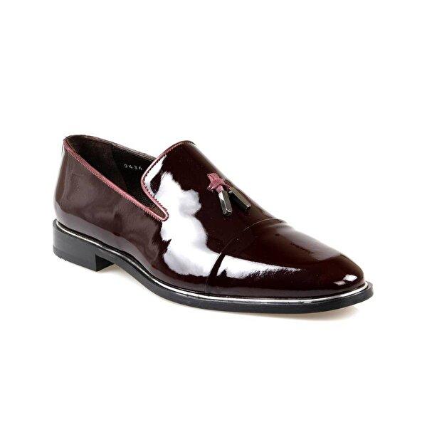 Pierre Loti Erkek Siyah Püsküllü Rugan Deri Klasik Ayakkabı