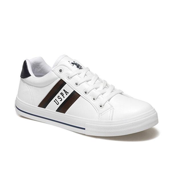 U.S. Polo Assn. PURE 1FX Beyaz Erkek Kalın Tabanlı Sneaker