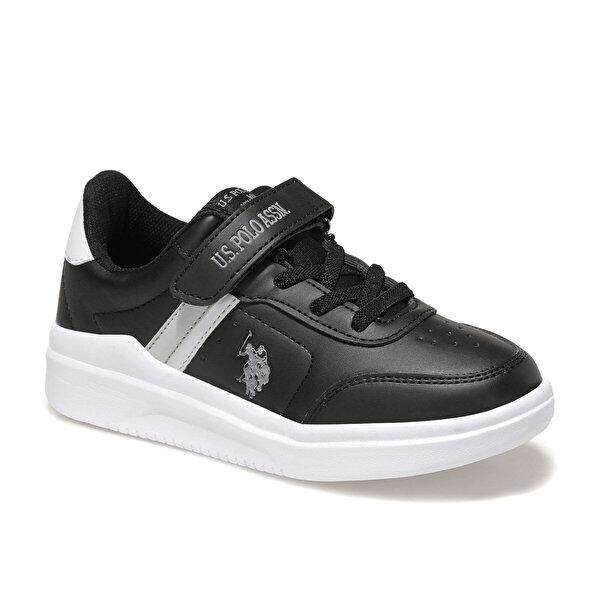 U.S. Polo Assn. BERKELEY JR Siyah Erkek Çocuk Sneaker Ayakkabı