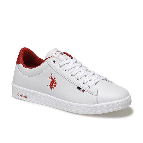 U.S. Polo Assn. FRANCO WMN 1FX Beyaz Kadın Sneaker Ayakkabı
