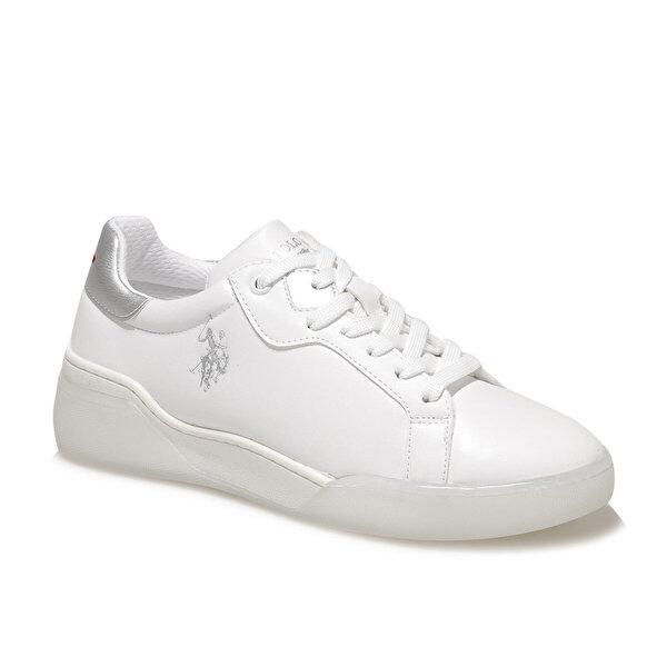 U.S. Polo Assn. TAFFY 1FX Beyaz Kadın Fashion Sneaker